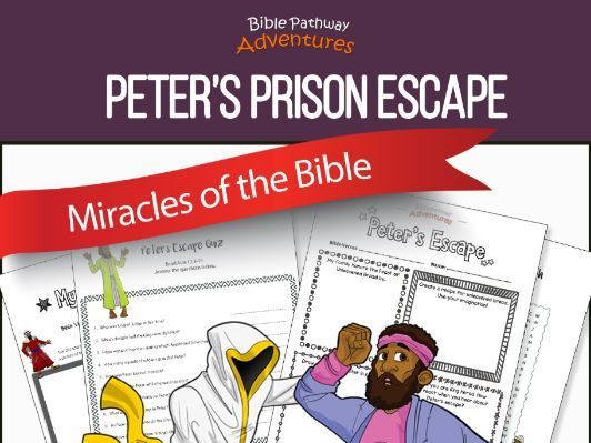 Bible Miracles: Peter's Prison Escape