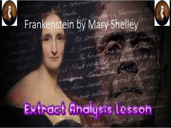Frankenstein Extract Analysis + Vocabularly - 5 Lesson Pack!