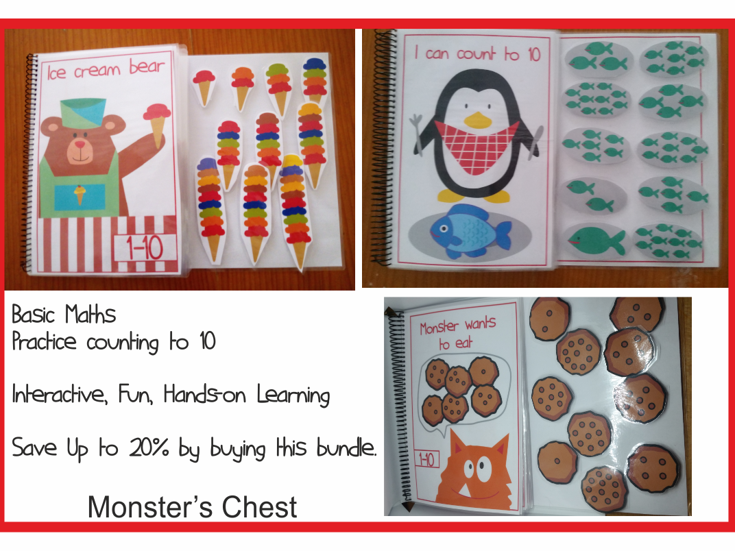 Basic Math Adapted Books