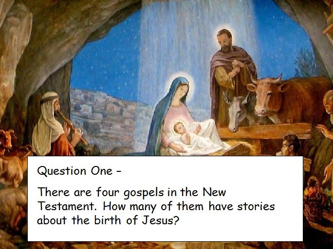 Christmas Bible Quiz - Powerpoint
