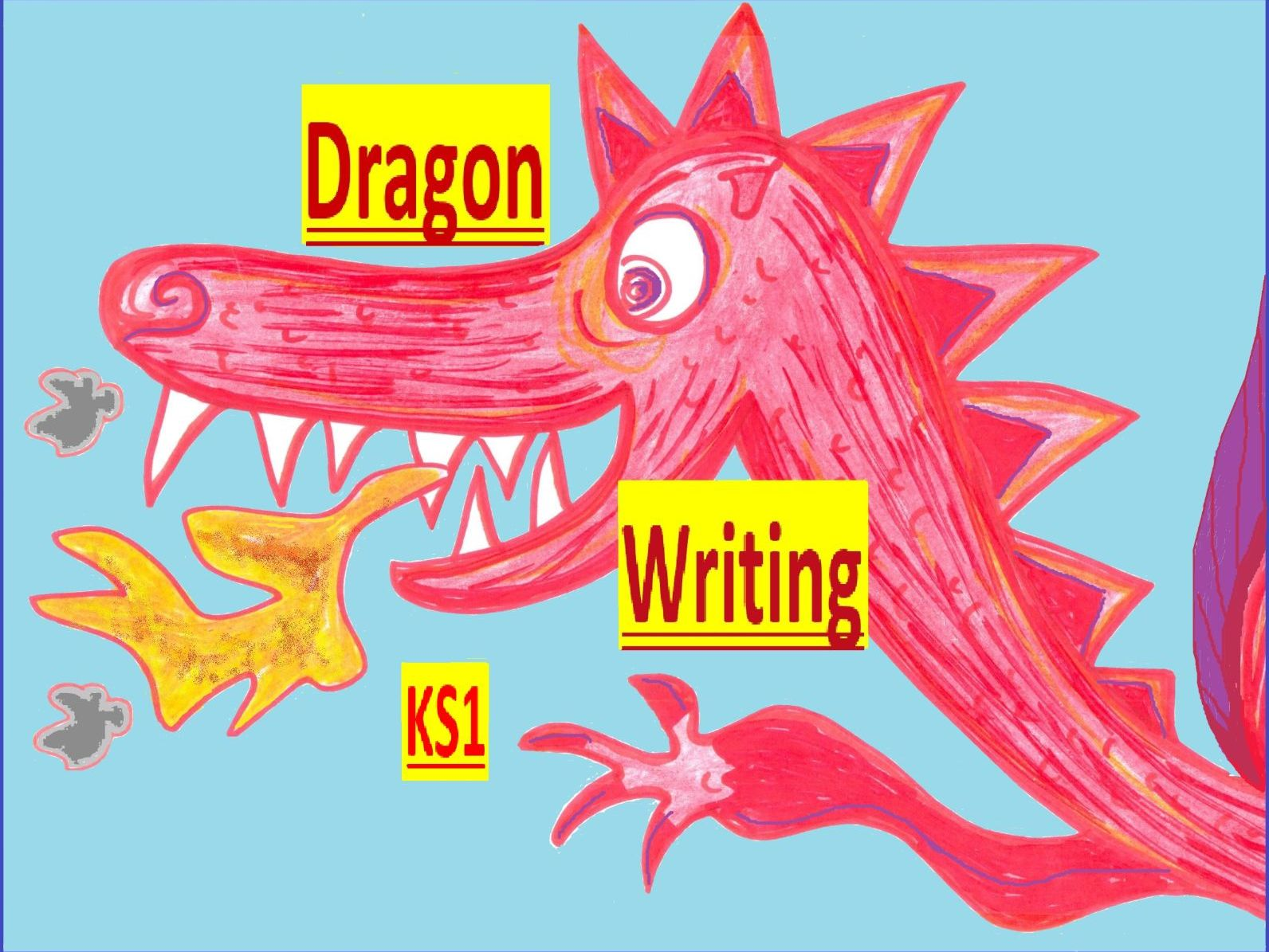 Dragon Writing/Colouring Bundle - EY-Y2
