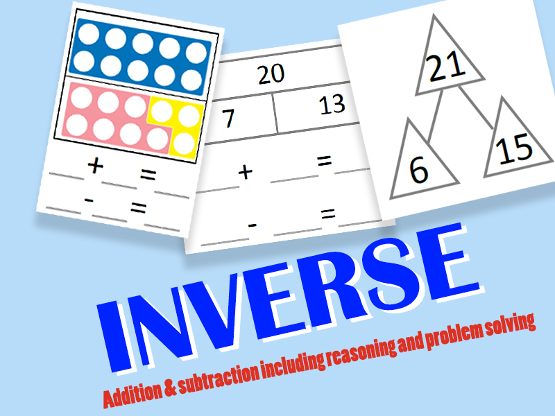 Inverse Addition and Subtraction - With Problem Solving