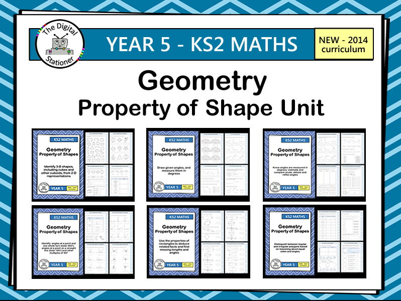 Year 5 - Geometry - White Rose - Summer - Block 2 - Week 5-7 - Property of Shape