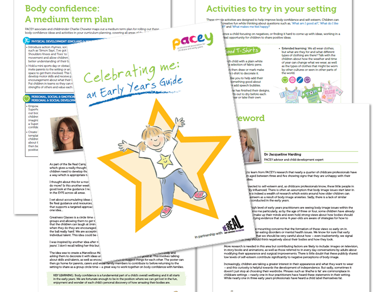 Body confidence  ¦ Early years toolkit