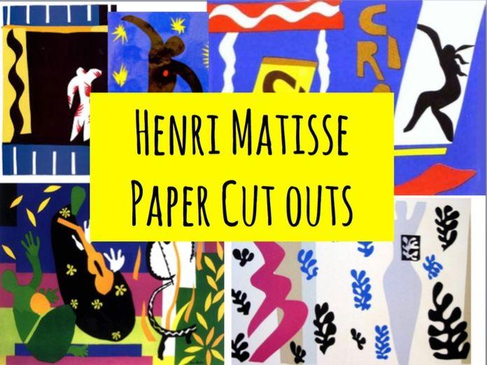 Henri Matisse Paper Cut out Circus lesson ks3