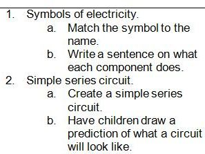 Year 4 Electricity 6 Lesson Unit
