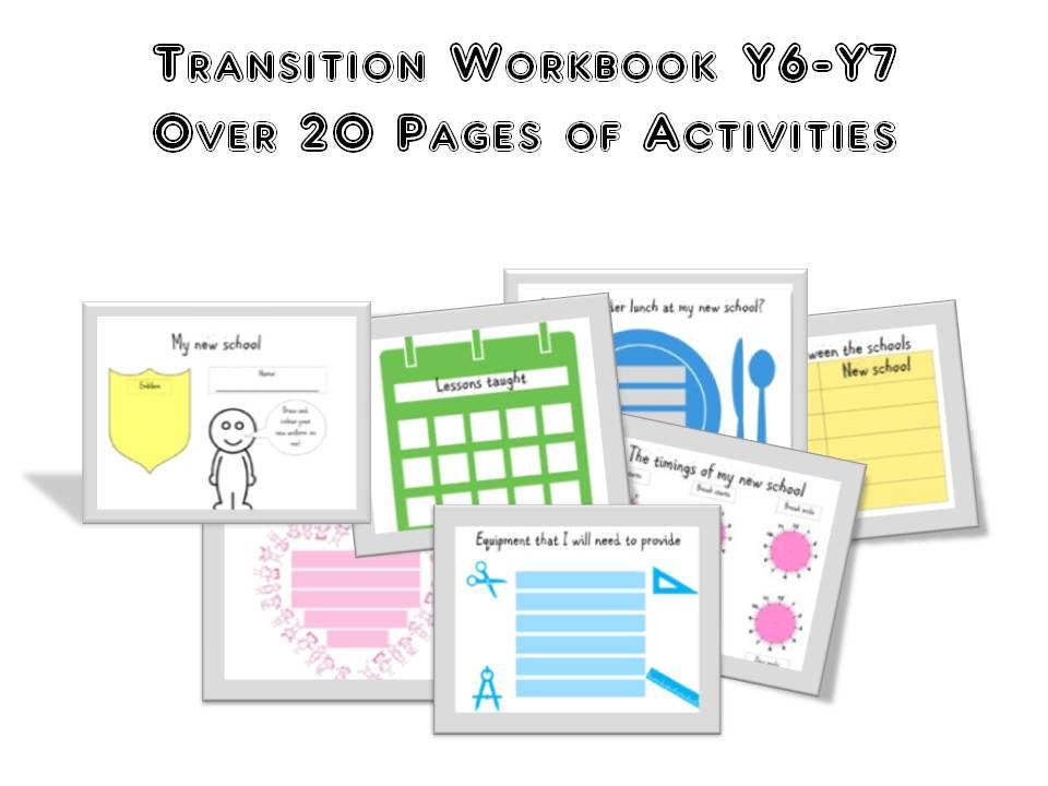 Transition Workbook Year 6