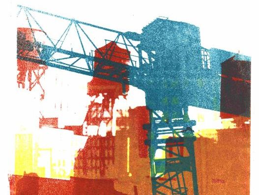 Collage in print art - free images & photos of streets, new buildings, constructions, structures