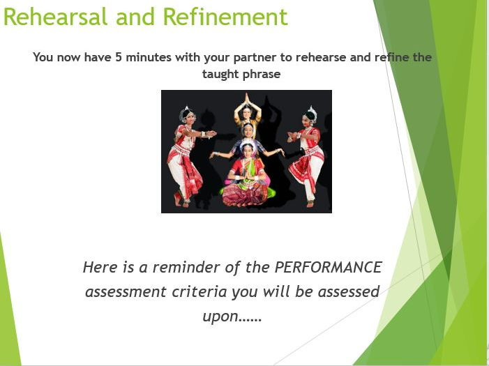 Bollywood / Indian Dance - Scheme of Work - KS3
