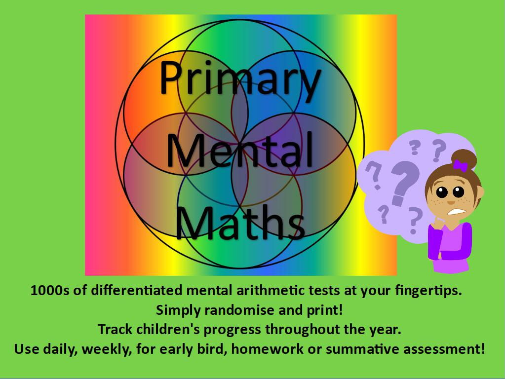 Primary Mental ArithmeticTests