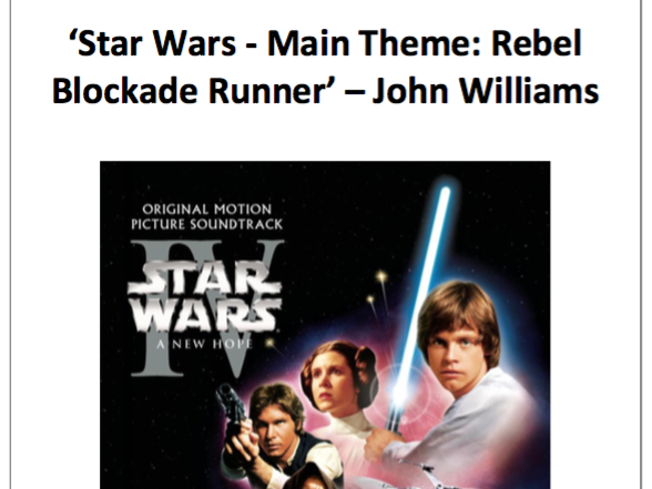 10 Question Quizzes - Star Wars Main Theme by John Williams - Edexcel GCSE Music