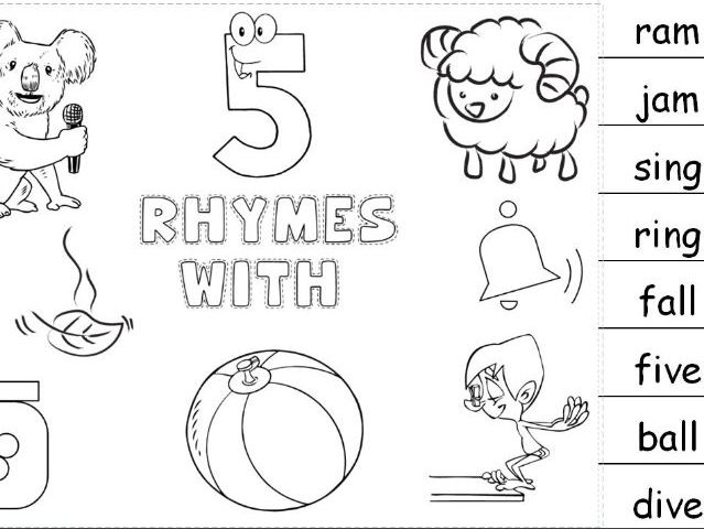 Rhymes With Booklet for KS1