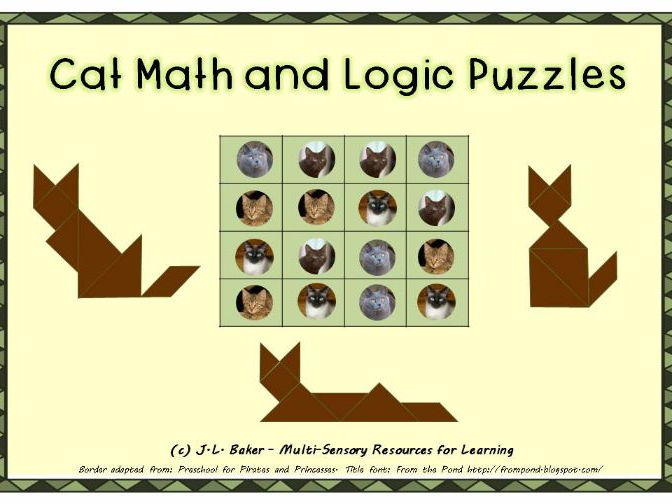 Cat Pack: Visual Maths and Logic Puzzles for Middle and Upper Primary