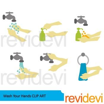 Wash your hands clip art