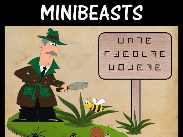 Minibeasts  -  Code Breaking (Pig Pen Code)