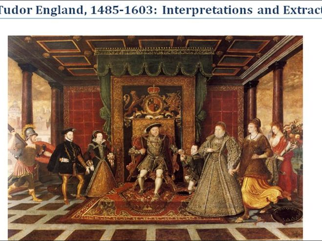 Tudors 1485-1603 Interpretation Booklet - Home learning or Revision