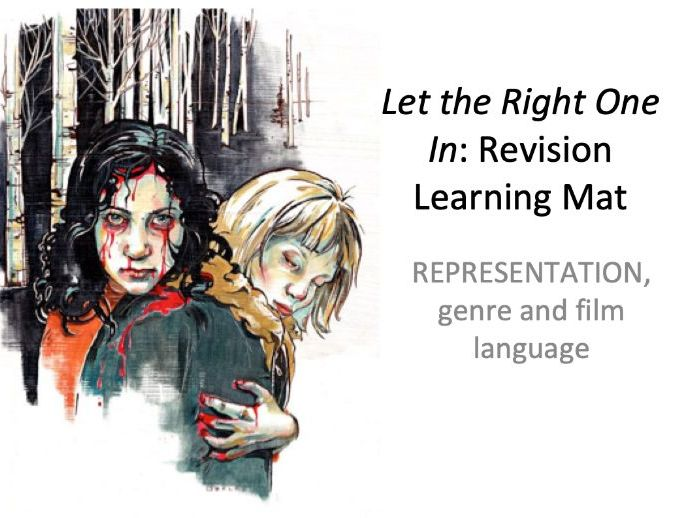 Let the Right One In  GCSE FILM STUDIES EDUQAS / WJEC resource pack