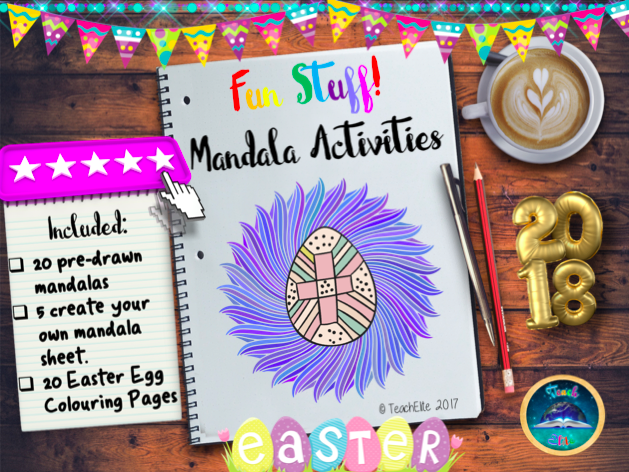 Easter: Easter Mandalas Activity