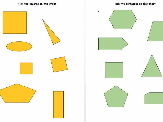 Criteria Labels For Sorting 3d Shapes By Scmcfa Teaching Resources