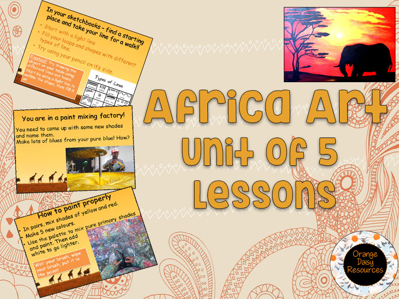 African Art Unit for KS1