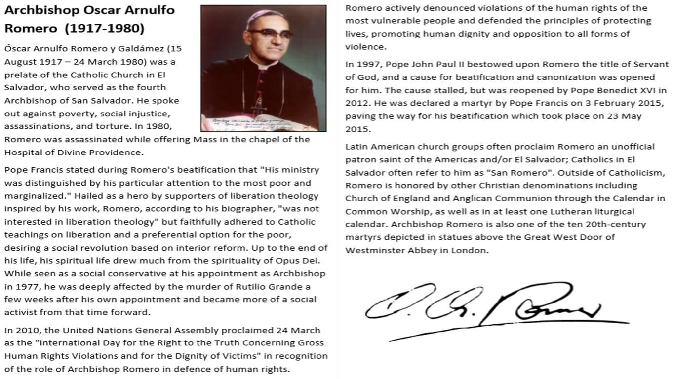 Oscar Romero Bundle