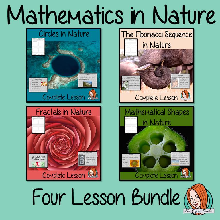 Mathematics in Nature Lesson Bundle