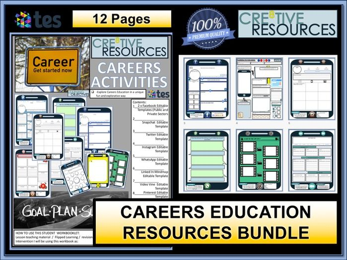 Middle school student careers advice resources