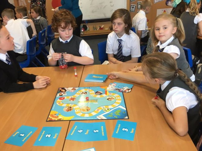 Food, Mood and Health Game - Lesson Plans PSHE Food Education
