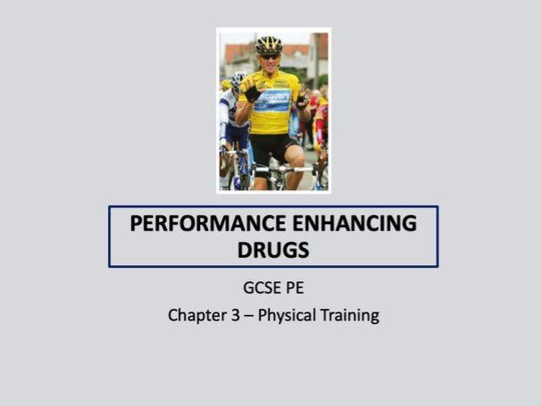 GCSE 9-1 PE - Performance Enhancing Drugs lesson