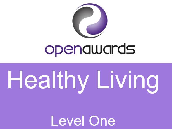 Open Award Level 1- Health Living Work Book