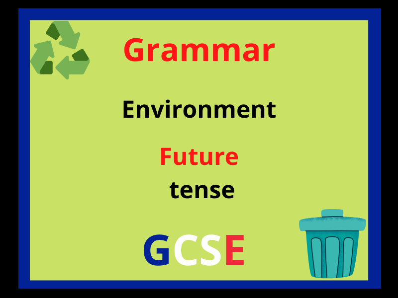 French future tense - environment