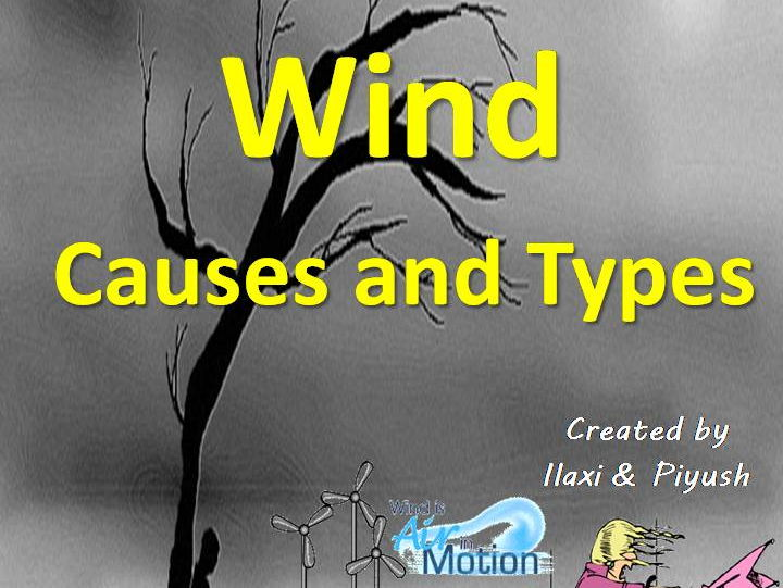 Winds : Its Causes and Types - Unit with Worksheets