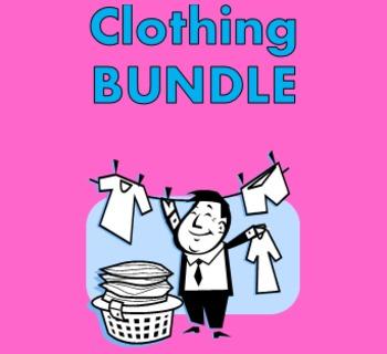 Roupa (Clothing in Portuguese) Bundle