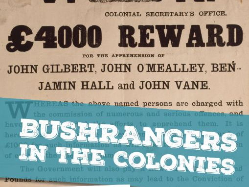 Bushrangers in the Colonies Resource Bundle