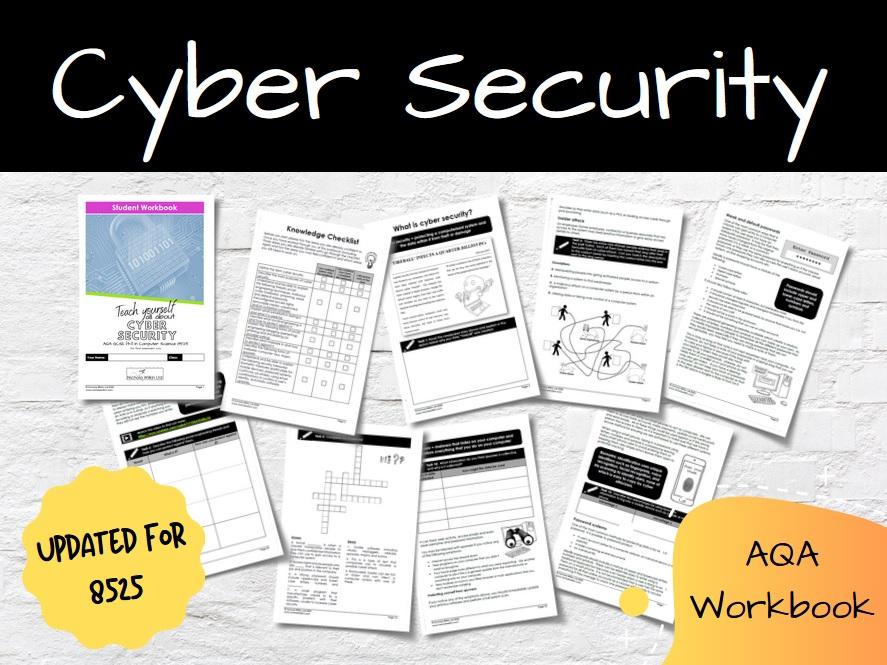 Cyber Security AQA GCSE Computer Science Workbook (8525)