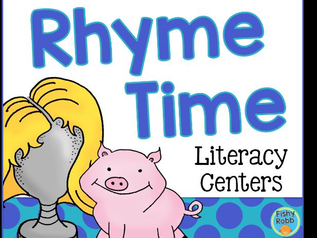 Rhyming Words Literacy Center