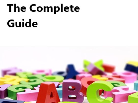 Literacy Handbook the Complete Guide