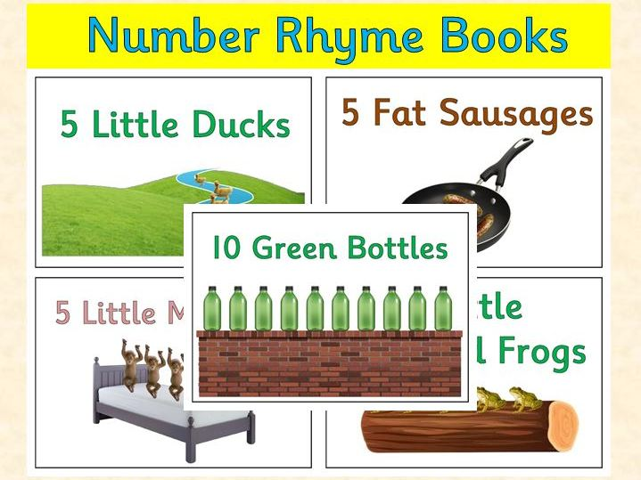 Number Rhymes - Maths Books