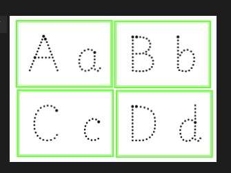 Alphabet Formation Flash Cards - Upper and Lower Case - Handwriting Practice