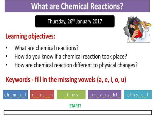 Matter level assessed task to assess app by bidd1980 teaching year 7 what are chemical reactions urtaz Choice Image