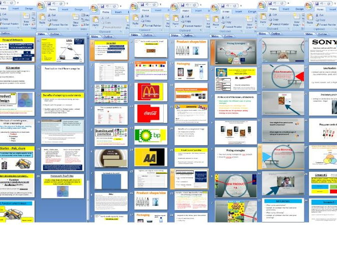 Edexcel AS A Level Business - Theme 1 - 1.3 Marketing mix and strategy