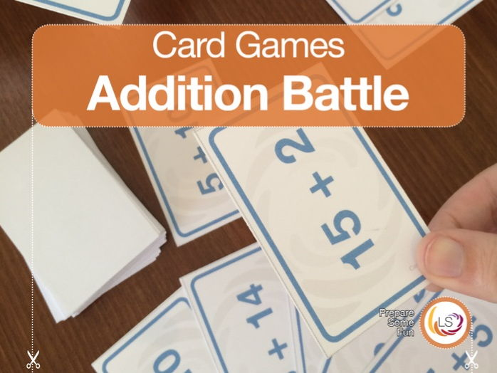 Addition Battle | Card Game to build skills in addition and number bonds