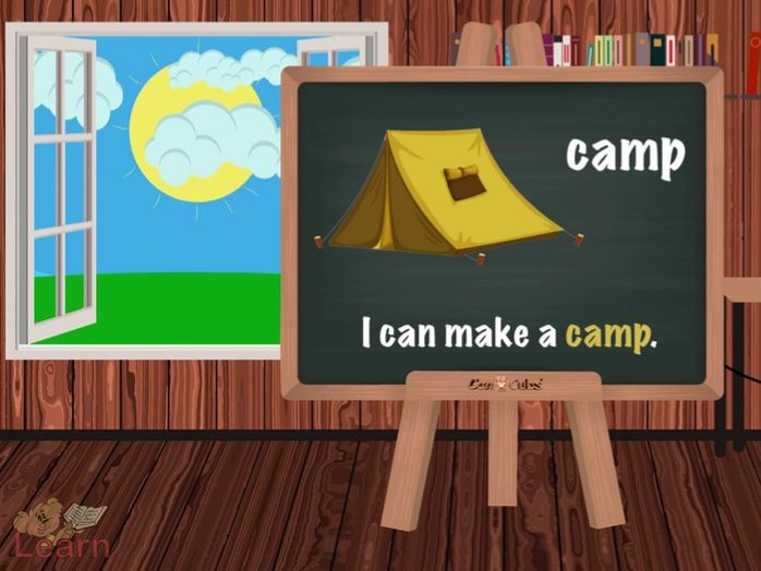 Going Camping (bears going on a trip)
