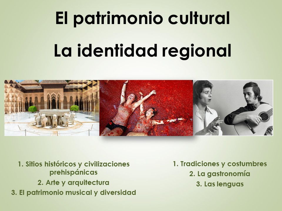 AQA New AS/A Level Spanish La identidad regional y El patrimonio cultural