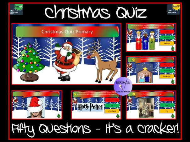 Christmas Quiz - Primary - 50 Questions