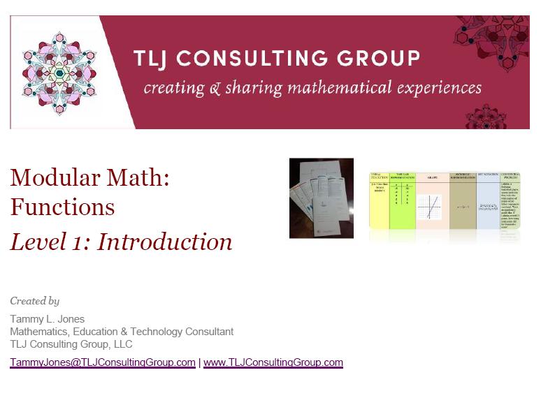 Modular Math Function Level 1 Introduction