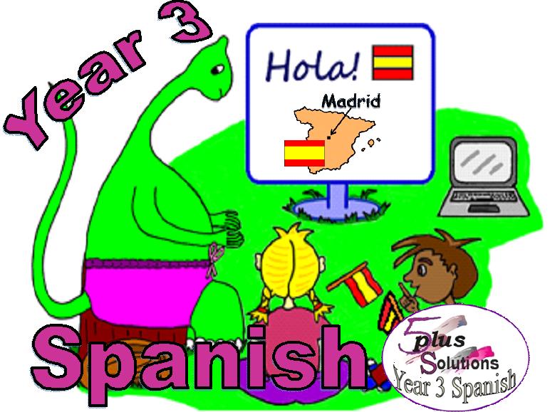 Primary Spanish LEARNING MATS:Year 3 Spanish