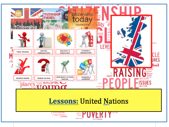 Topic: United Nations   -  New GCSE Citizenship (9-1)