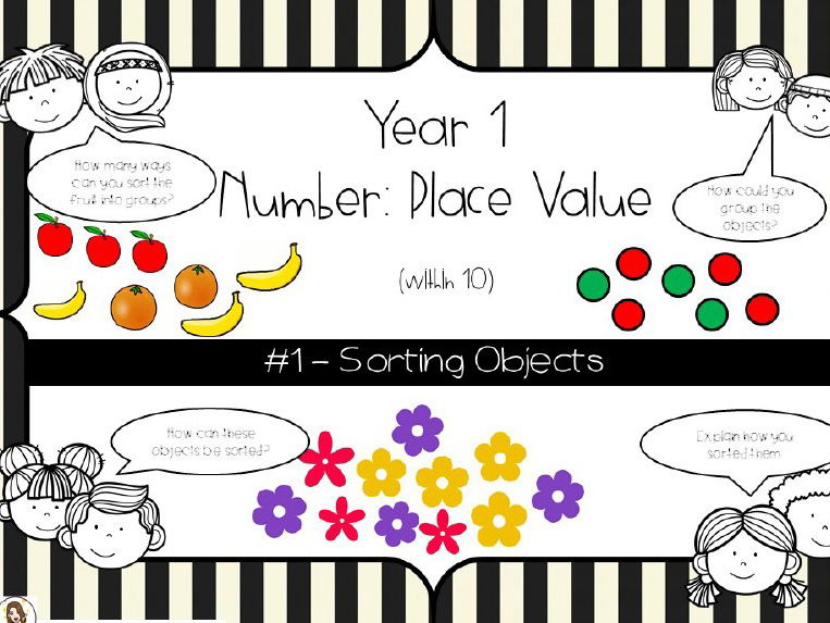 Year 1-Place Value - Sorting Objects