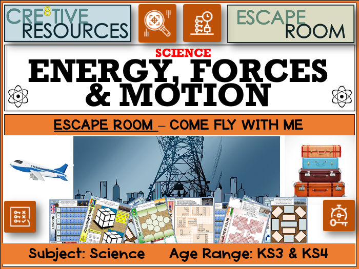 Energy Forces and Motion